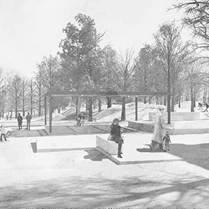 Amos architectes – Bois de la Bâtie, Genève